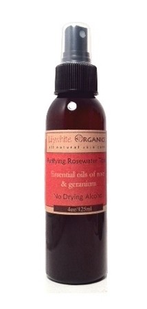 Purifying Rose Water Toner for normal, dry, mature skin types